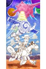 DISNEY Cowboys and Space Rangers (WIP) - Original