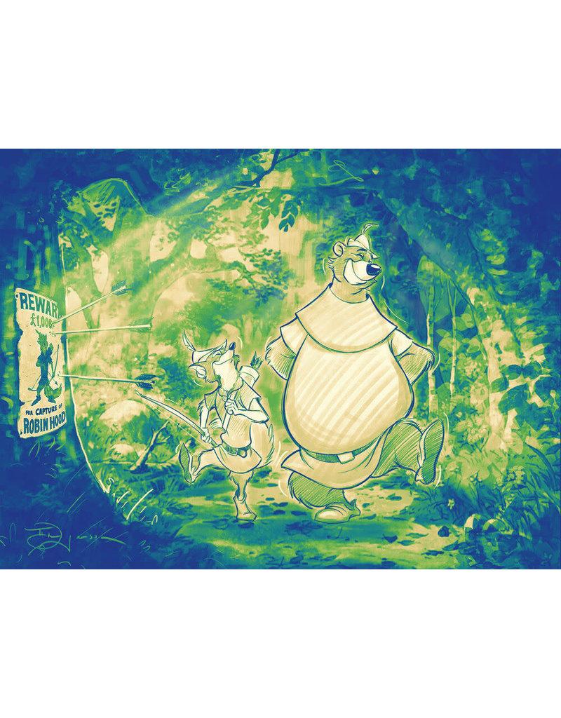 DISNEY Stroll Through The Sherwood (WIP) - Original