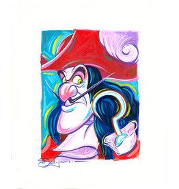 DISNEY Hook Painted Sketch - Original
