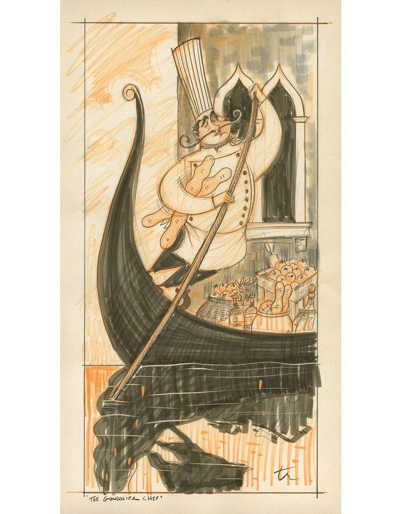 The Gondolier Chef (WIP) - Original