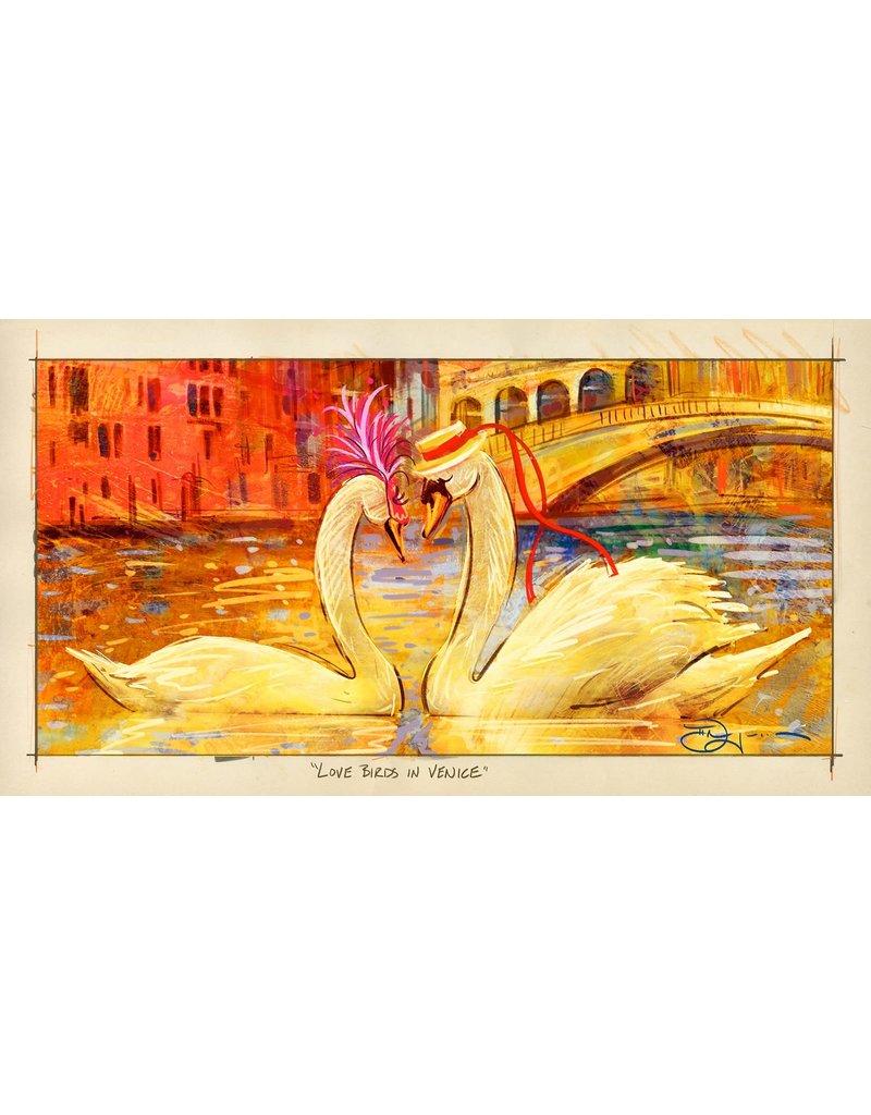 Love Birds in Venice (WIP) - Original