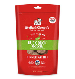 Stella & Chewy's Duck Duck Goose Freeze-Dried Raw Dinner 5.5oz