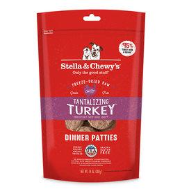 Stella & Chewy's Tantalizing Turkey Freeze-Dried Raw Dinner 14oz