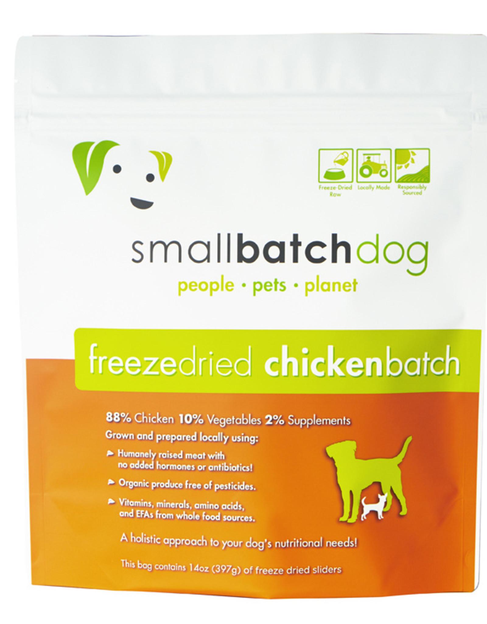 SmallBatch Pets Freeze-Dried Chicken Batch Dog 14oz
