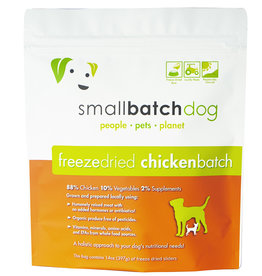 SmallBatch Pets Freeze-Dried Chicken Batch Dog 14oz