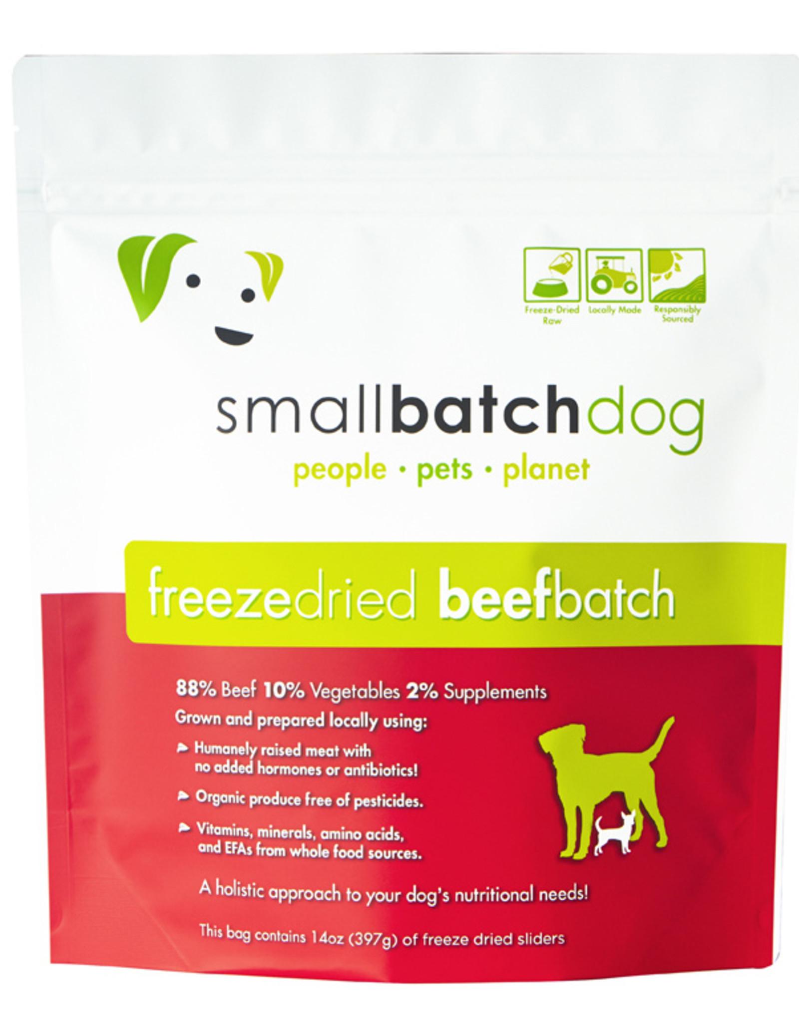 SmallBatch Pets Freeze-Dried Beef Batch Dog 14oz