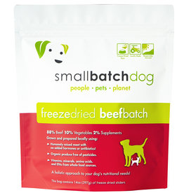 SmallBatch Pets Freeze-Dried Beef Batch Dog 14oz