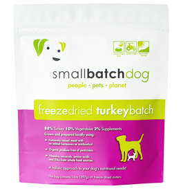 SmallBatch Pets Freeze-Dried Turkey Batch Dog 14oz