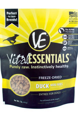 Vital Essentials Duck Mini Nibs Freeze-Dried Grain Free Dog Food 1lb