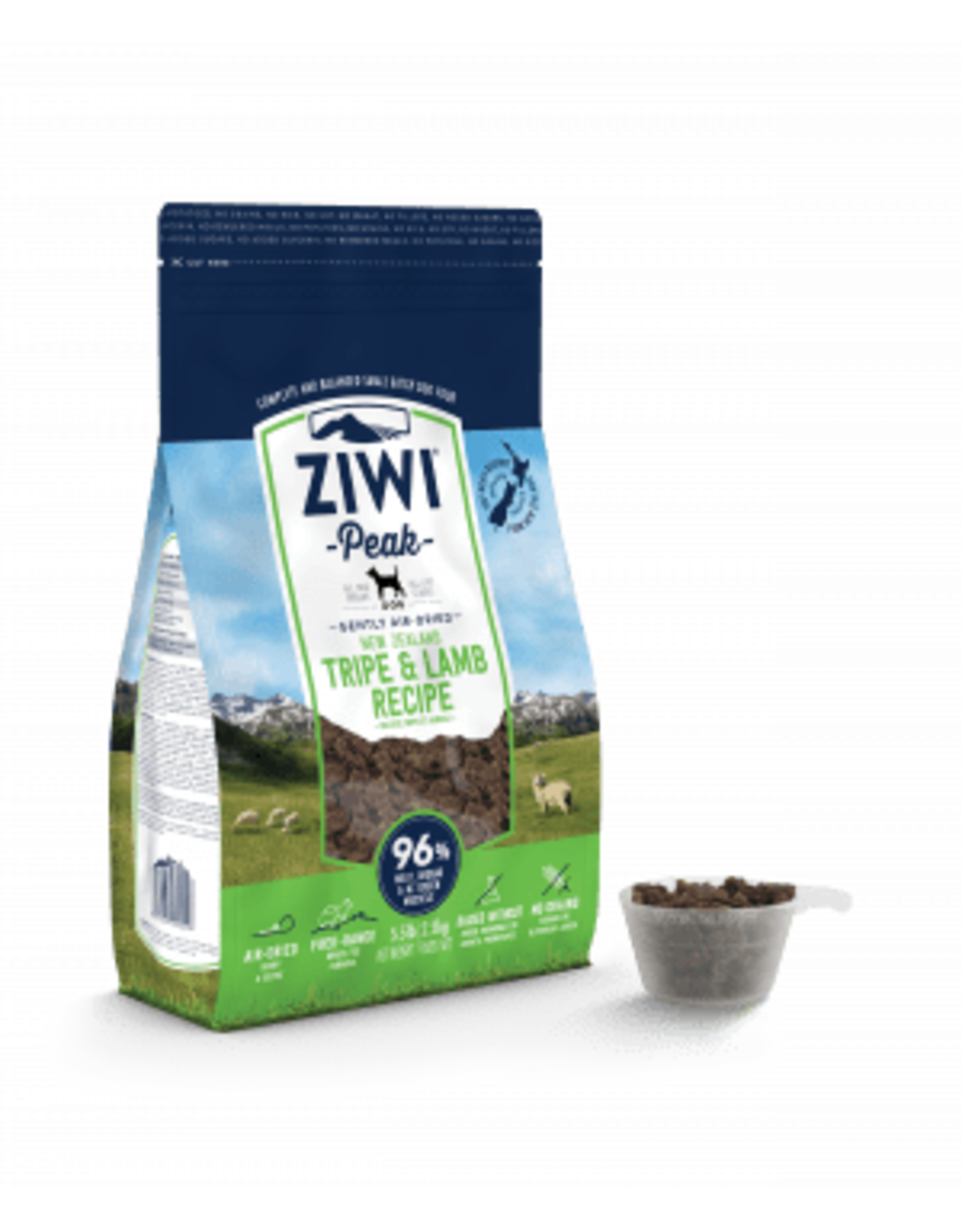 Ziwi Peak Air-Dried Tripe & Lamb Recipe for Dogs 2.2lb