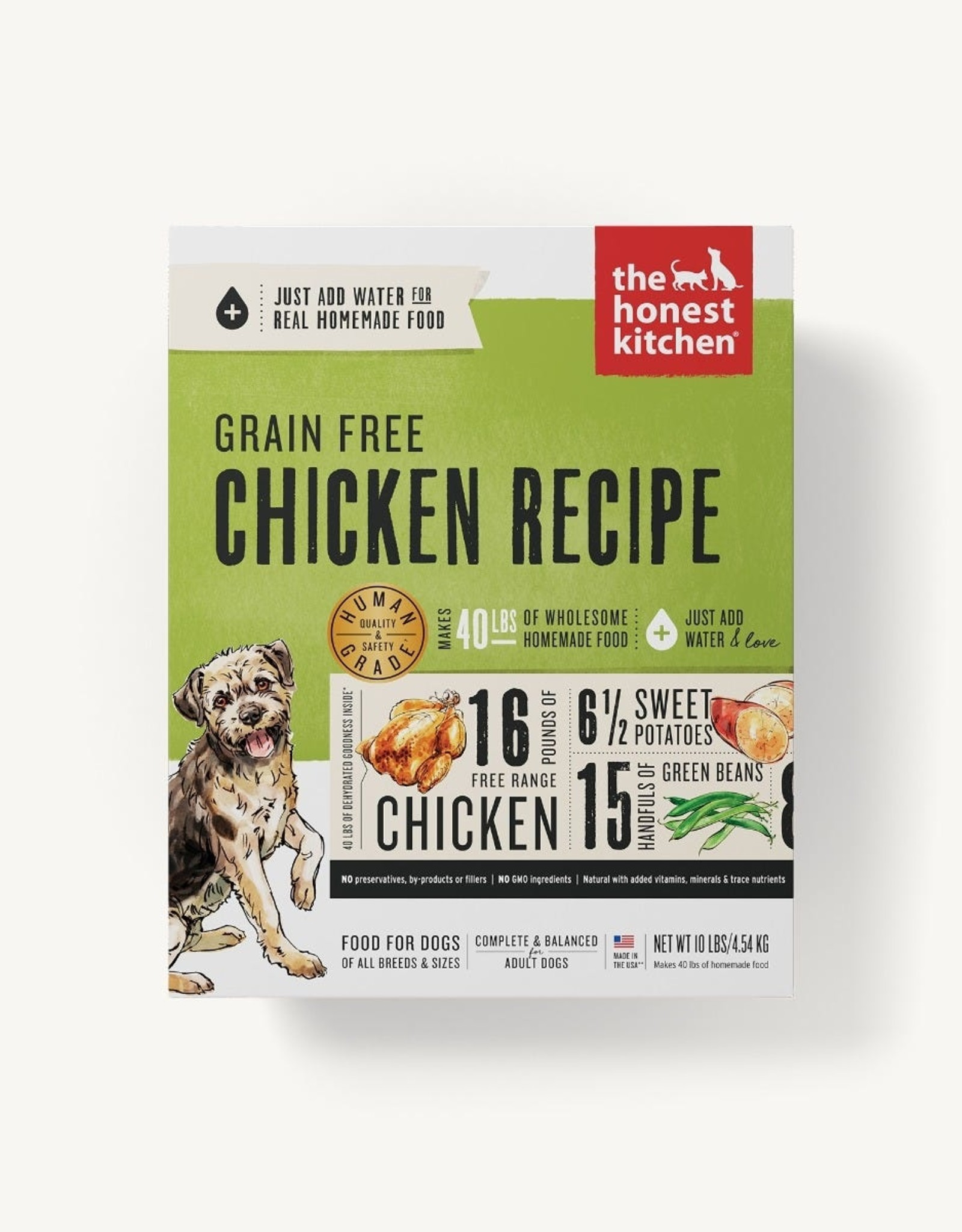The Honest Kitchen Dehydrated - Grain Free Chicken Recipe 4lb
