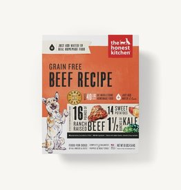The Honest Kitchen Dehydrated - Grain Free Beef Recipe 10lb