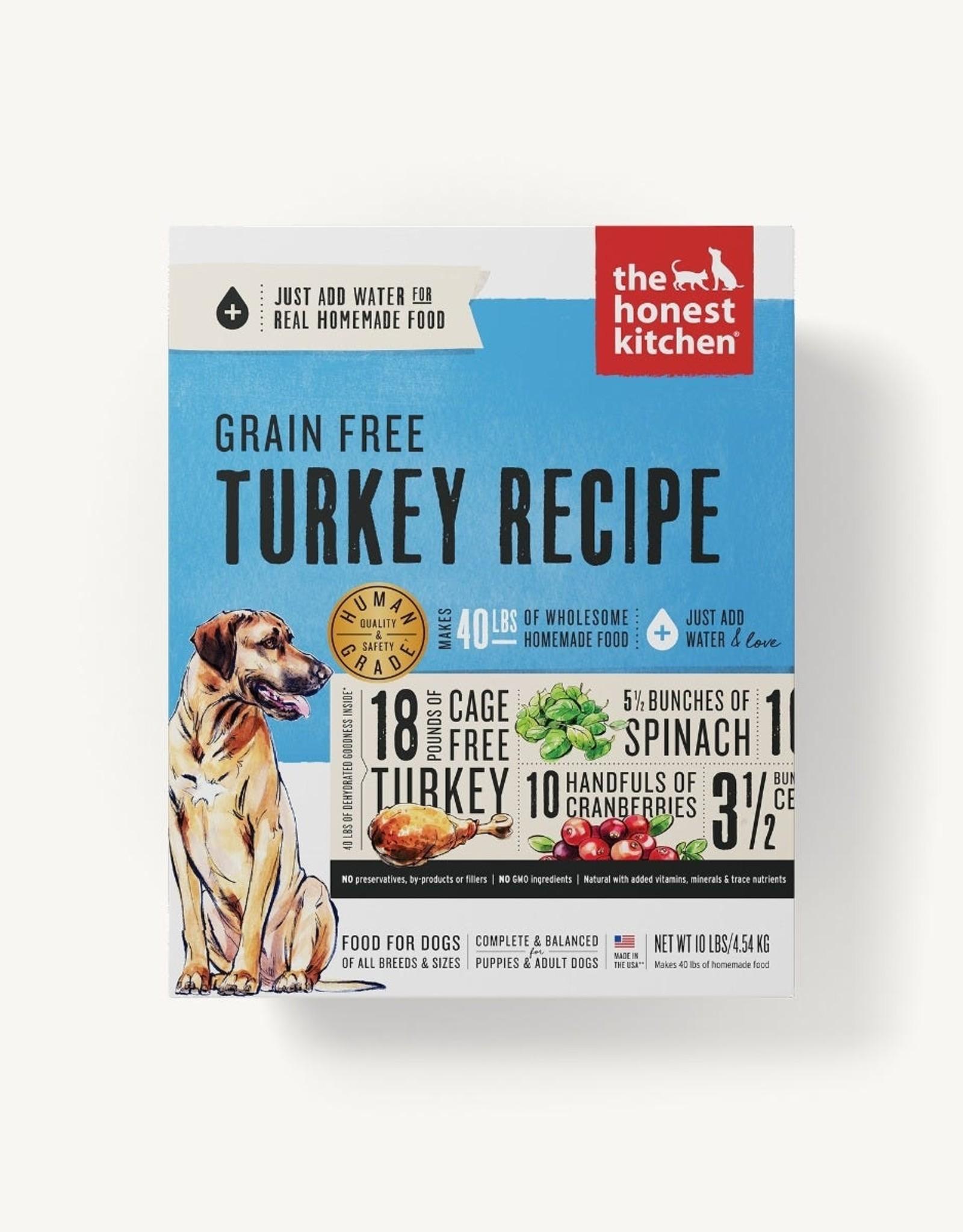 The Honest Kitchen Dehydrated - Grain Free Turkey Recipe 10lb