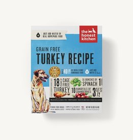 The Honest Kitchen Dehydrated - Grain Free Turkey Recipe 10lb