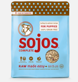 Sojos Pet Food Sojos Complete Puppy Food Turkey & Salmon Recipe 4lb