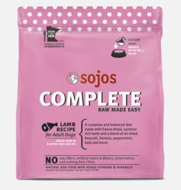 Sojos Pet Food Sojos Complete Dog Food Lamb Recipe 7lb