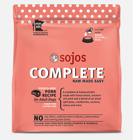 Sojos Pet Food Sojos Complete Dog Food Pork Recipe 1.75lb