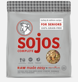 Sojos Pet Food Sojos Complete Senior Food Turkey & Salmon Recipe 7lb