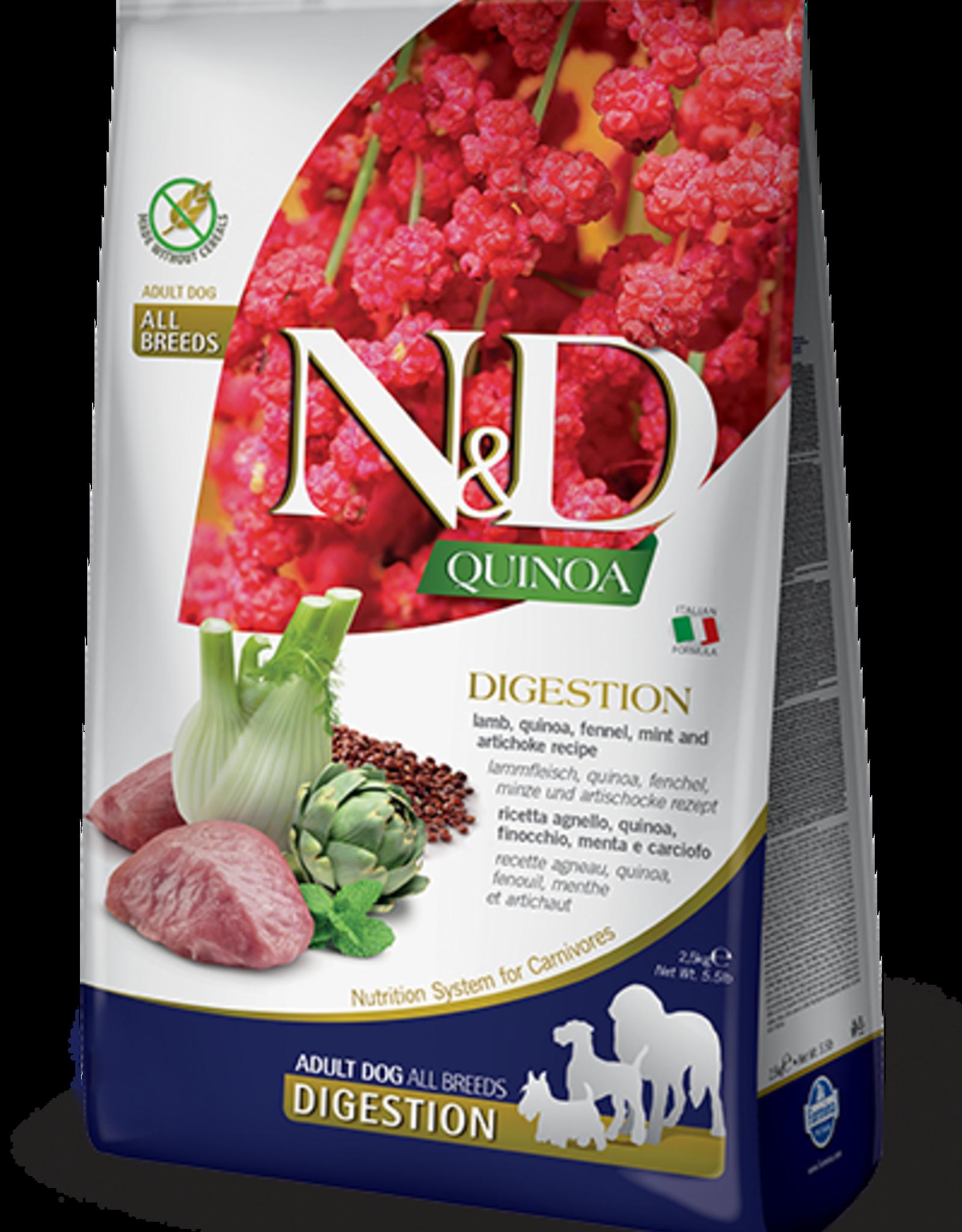 Farmina Dog N&D Quinoa - Digestion 5.5lb