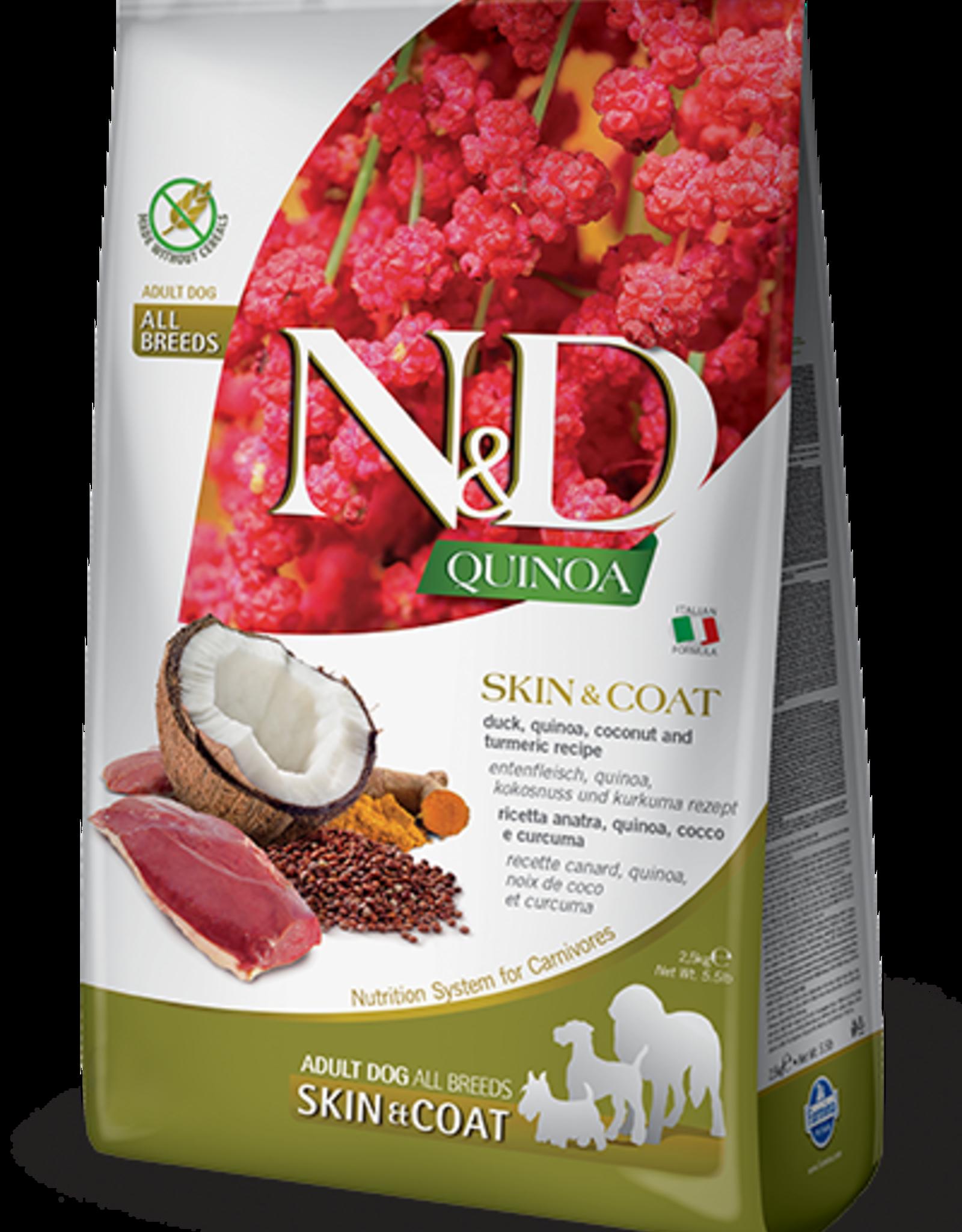 Farmina Dog N&D Quinoa - Skin&Coat Duck 15lb