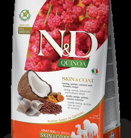 Farmina Dog N&D Quinoa - Skin&Coat Herring 5.5lb