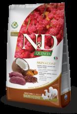 Farmina Dog N&D Quinoa - Skin&Coat Venison 15lb