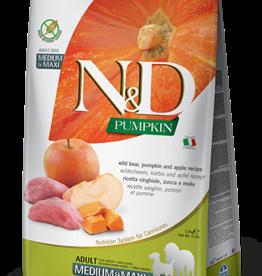 Farmina Dog N&D Pumpkin - Boar & Apple 26lb