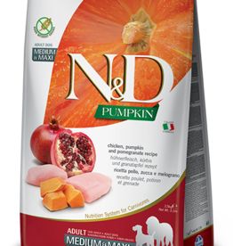 Farmina Dog N&D Pumpkin - Chicken & Pomegranate 5lb