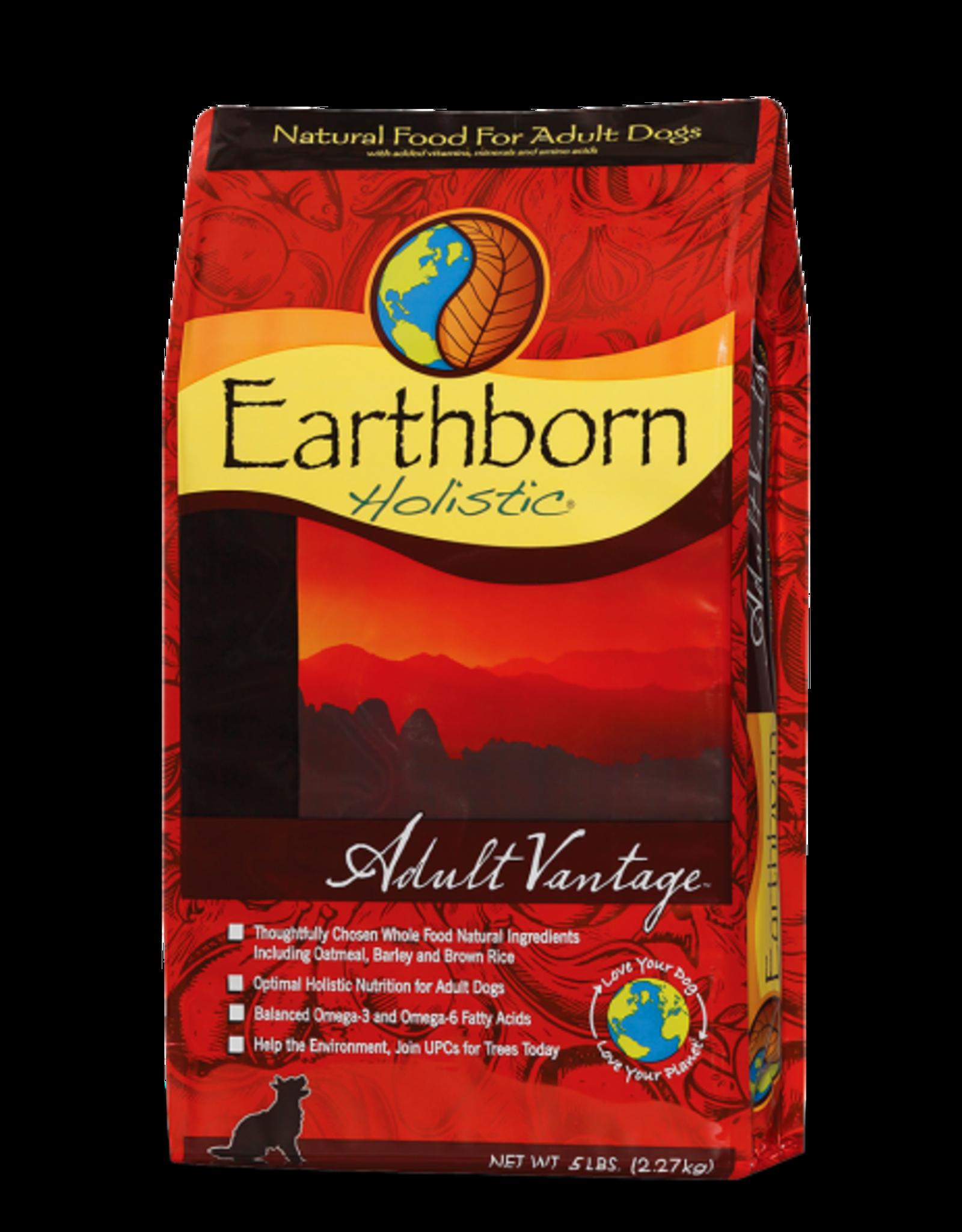 Earthborn Holistic Dog Adult Vantage - Whole Grain 14lb