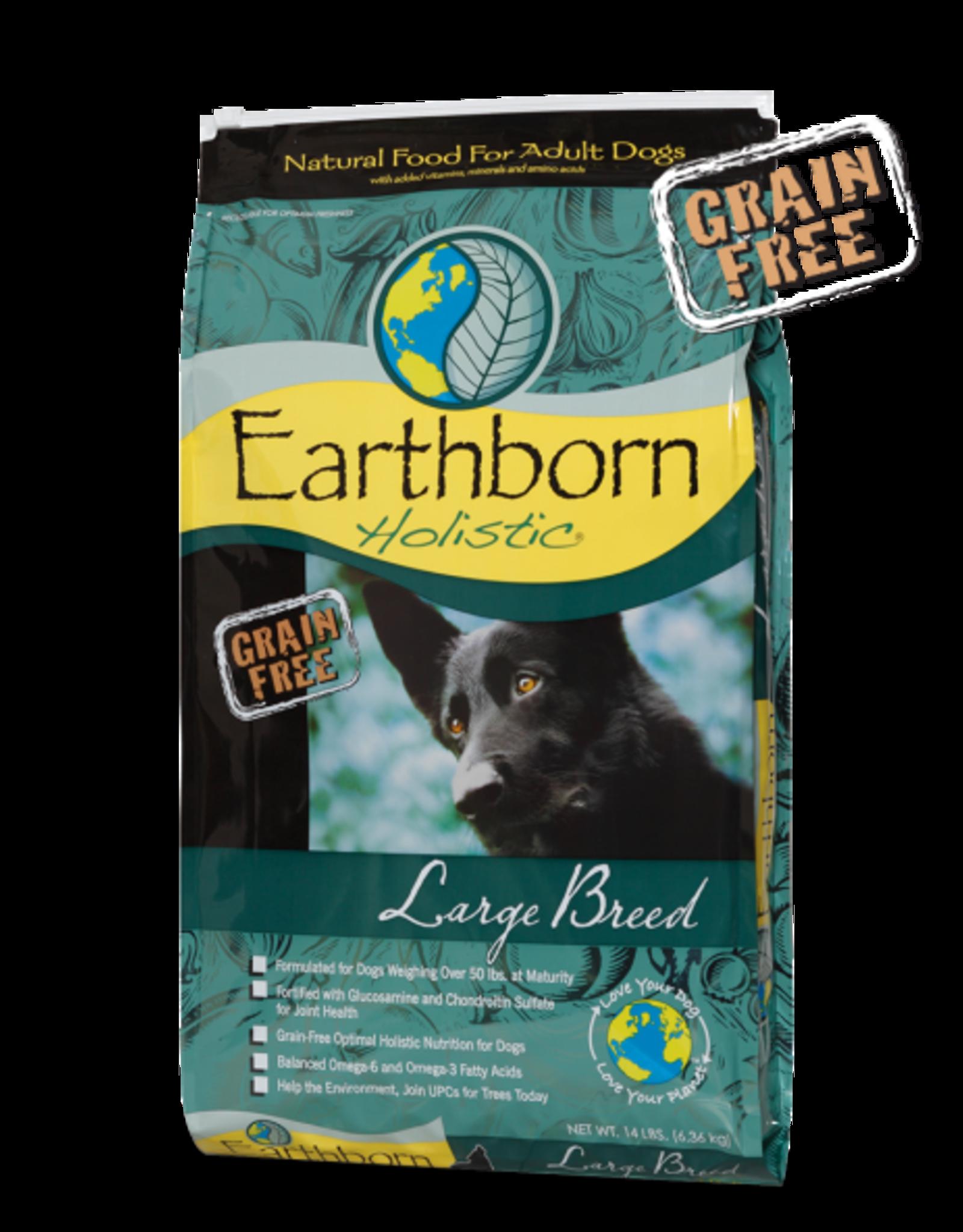 Earthborn Holistic Dog Large Breed - Grain-Free 14lb