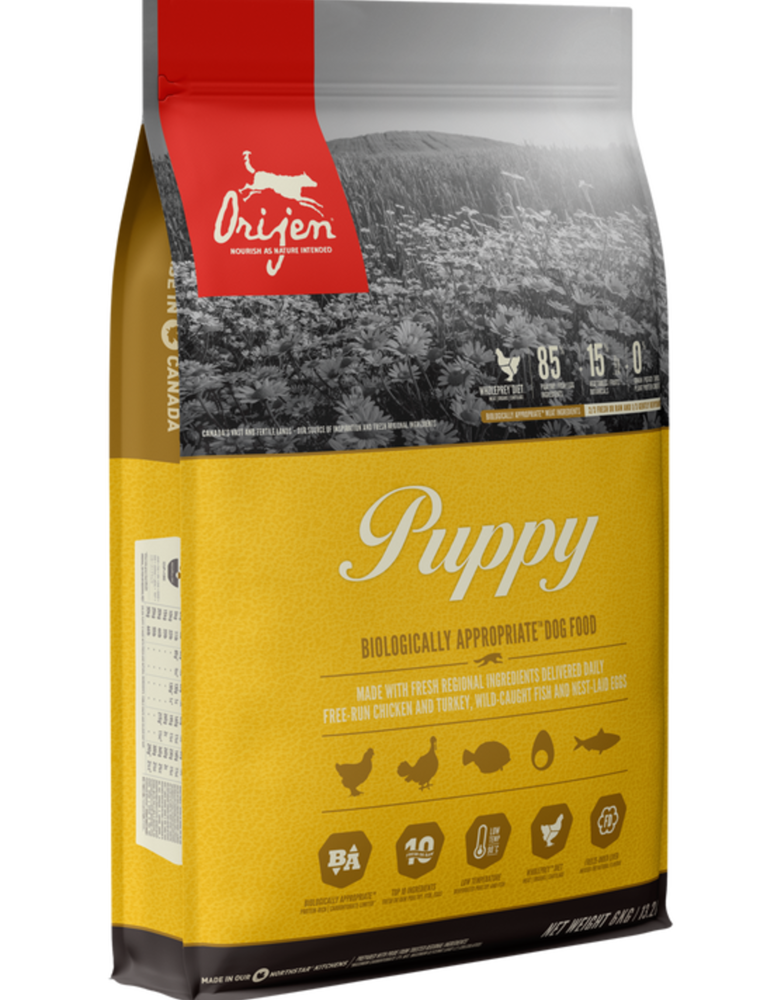 Orijen Dog Puppy - Grain-Free 4.5lb