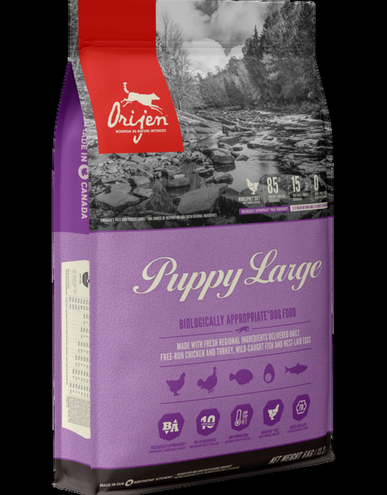 Orijen Dog Large Breed Puppy - Grain-Free 25lb