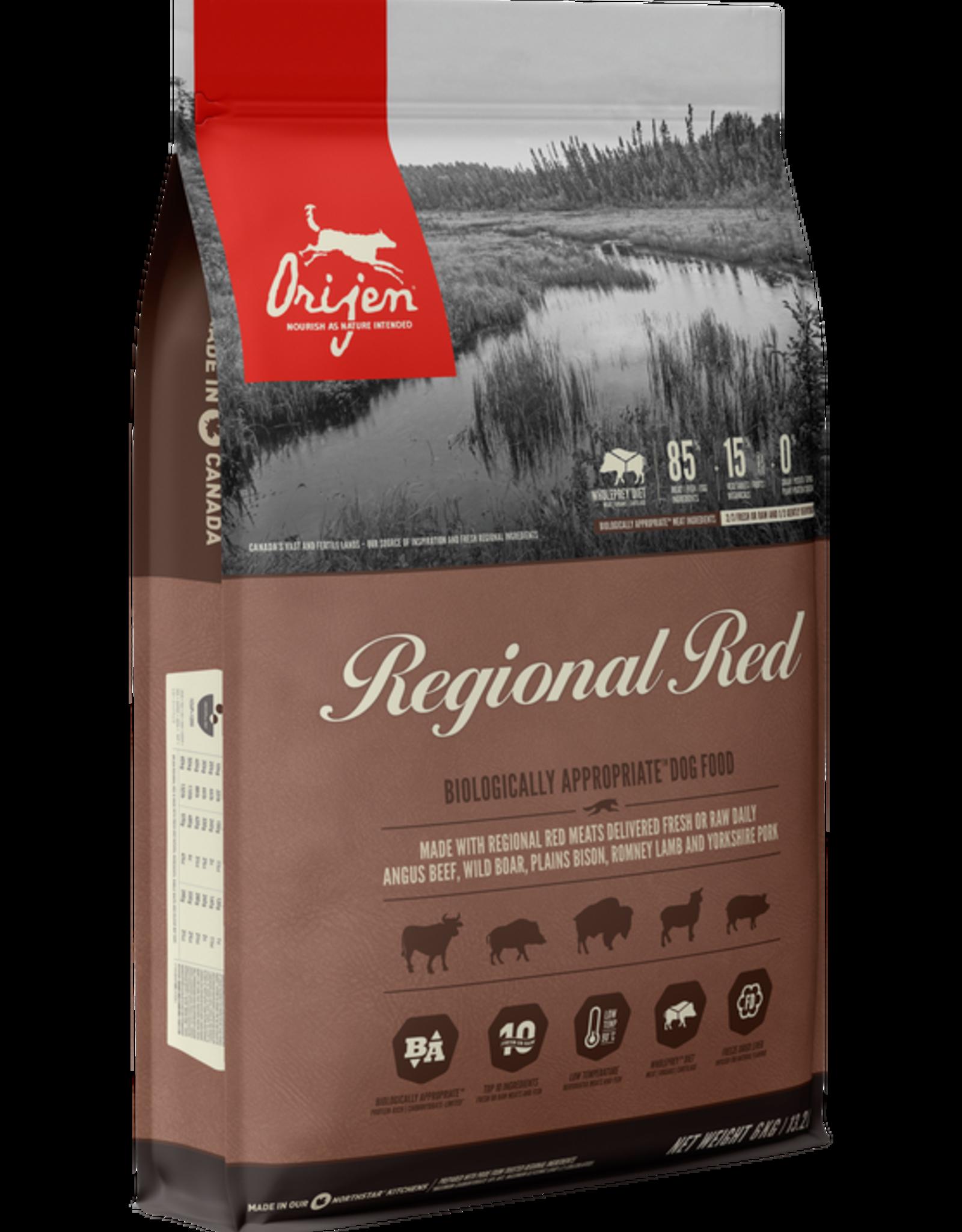 Orijen Dog Regional Red - Grain-Free 4.5lb