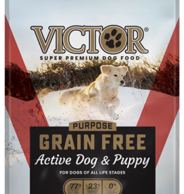 Victor Pet Food Dog Active Dog & Puppy - Grain-Free 30lb