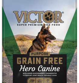 Victor Pet Food Dog Hero Canine - Grain-Free 30#