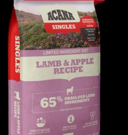 Acana Dog Singles Lamb & Apple - Grain-Free  13lb