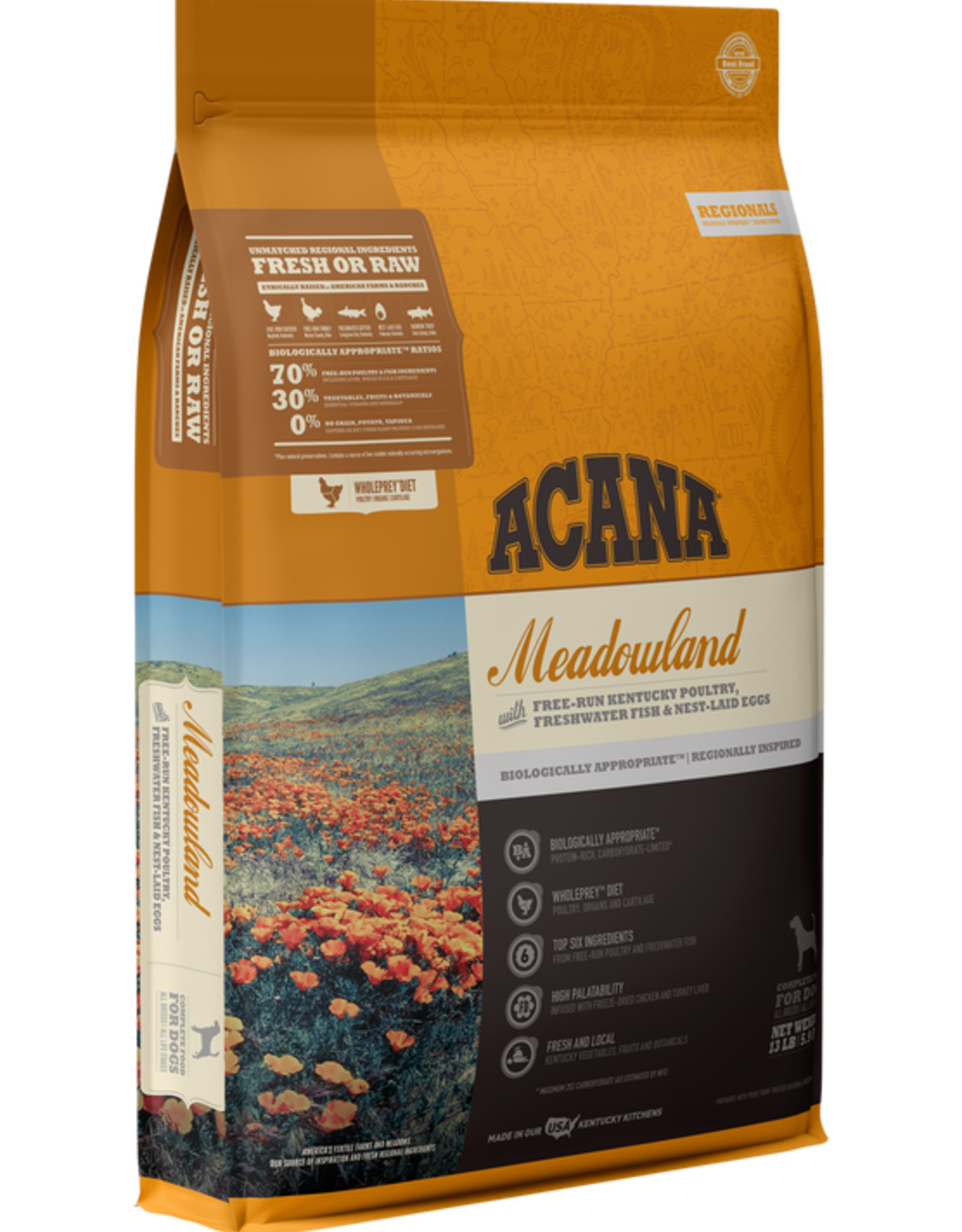 Acana Dog Meadowland - Grain-Free 13lb