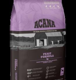 Acana Dog Heritage Feast - Grain-Free 25lb