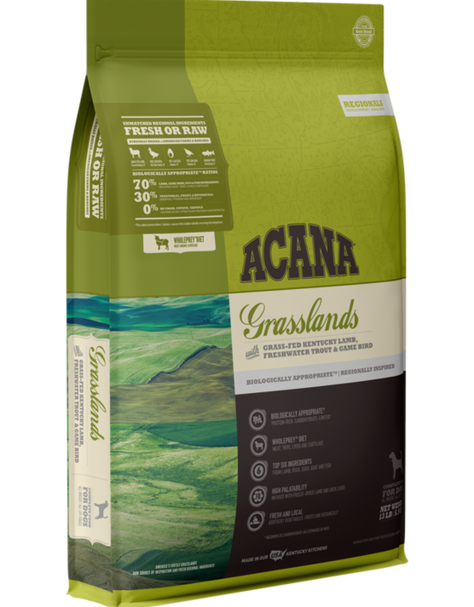 Acana Dog Grasslands - Grain-Free 25lb