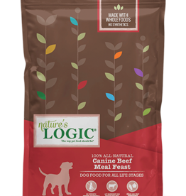 Natures Logic Canine Beef Feast - Whole Grain 26lb