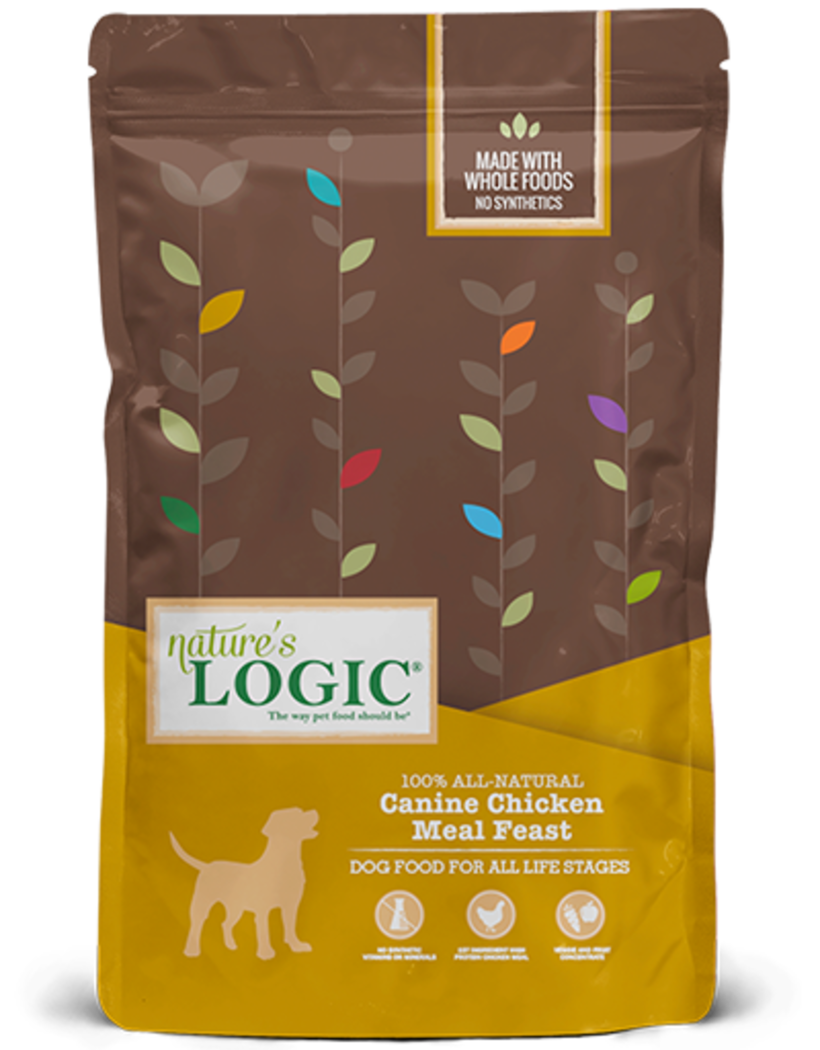 Natures Logic Canine Chicken Feast - Whole Grain 25lb