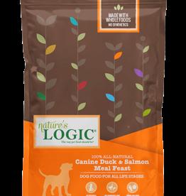 Natures Logic Canine Duck & Salmon Feast - Whole Grain 4.4lb