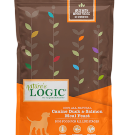Natures Logic Canine Duck & Salmon Feast - Whole Grain 25lb