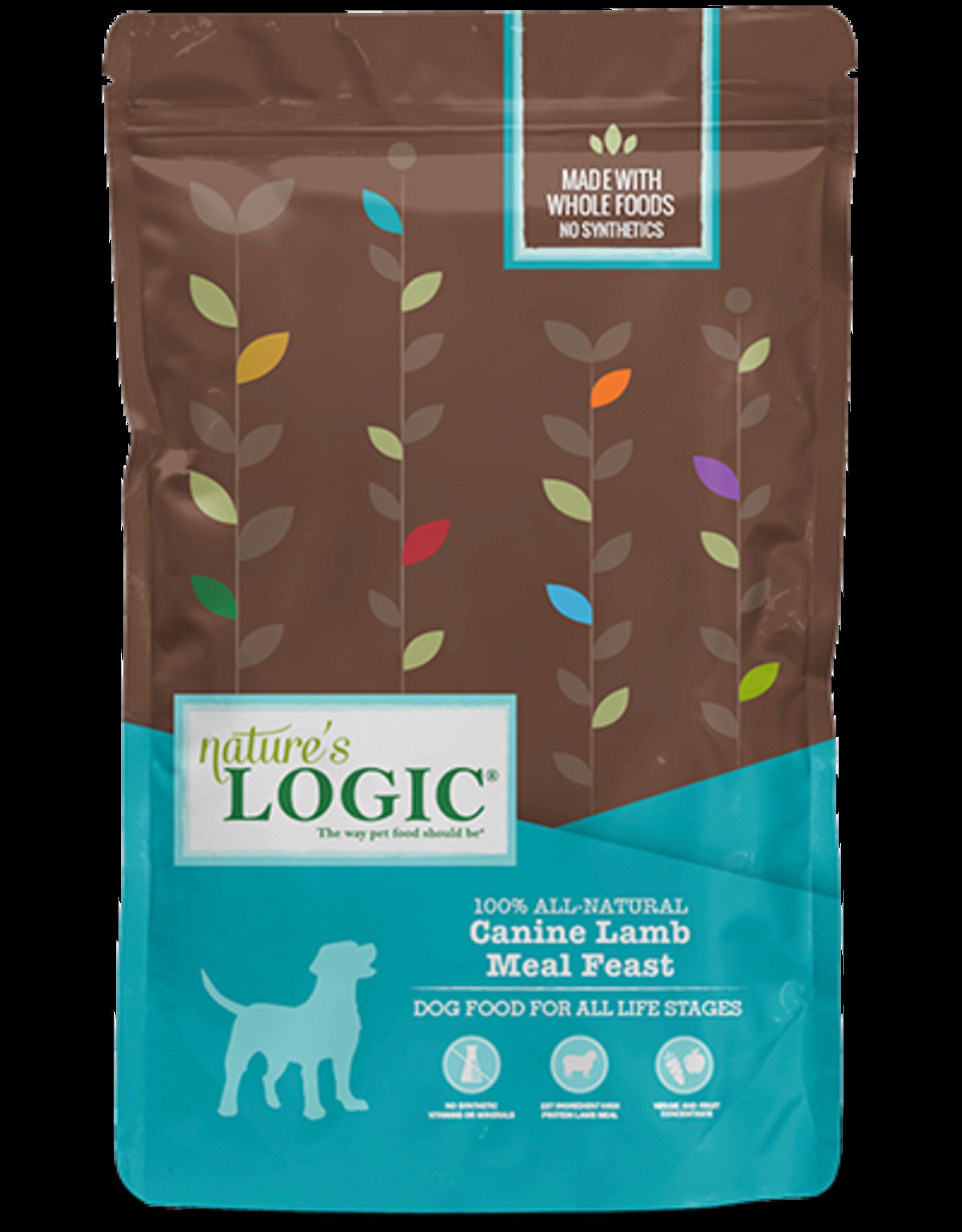 Natures Logic Canine Lamb Feast - Whole Grain 4.4lb