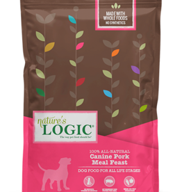 Natures Logic Canine Pork Feast - Whole Grain 25lb