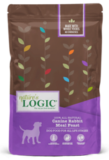 Natures Logic Canine Rabbit Feast - Whole Grain 4.4lb
