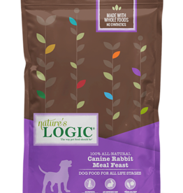 Natures Logic Canine Rabbit Feast - Whole Grain 25lb