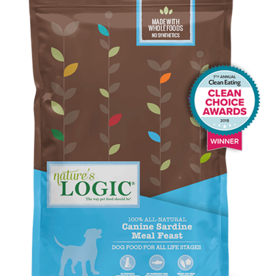 Natures Logic Canine Sardine Feast - Whole Grain 25lb
