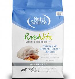 PureVita Dog Turkey & Sweet Potato Entrée - Grain-Free 5lb