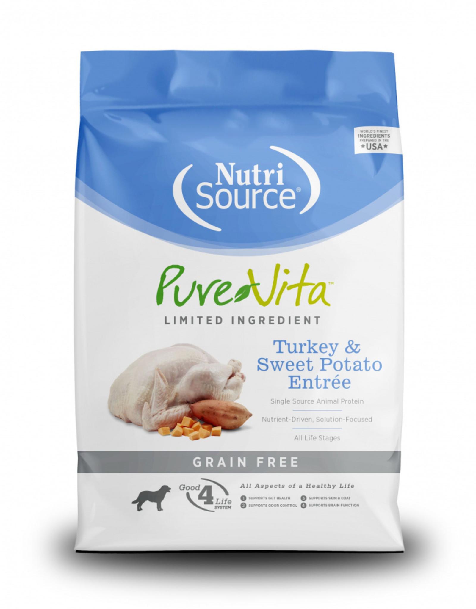 PureVita Dog Turkey & Sweet Potato Entrée - Grain-Free 15lb